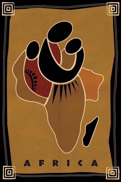 Africa Plakat