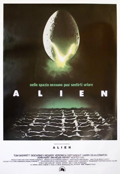 ALIEN - DEN 8. PASSAGER  Plakat