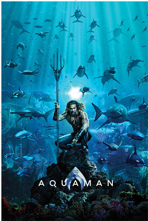 Aquaman - Teaser Plakat