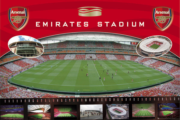 Arsenal - Emirates Plakat