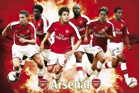Arsenal - player compilation 08/09 Plakat