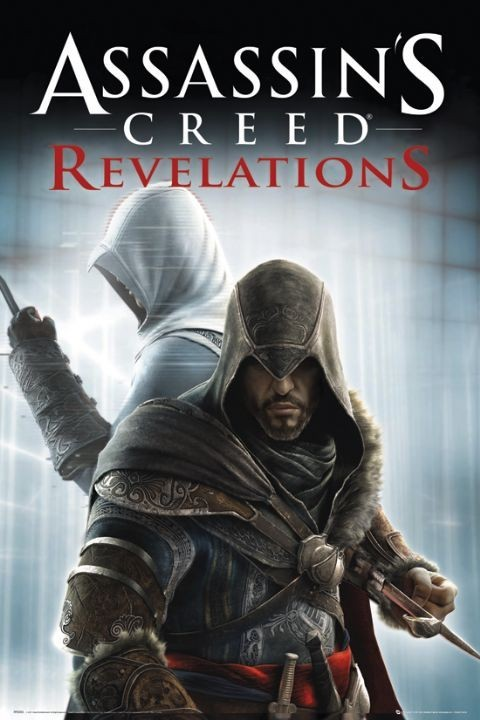 Assassin's creed Relevations - knives Plakat