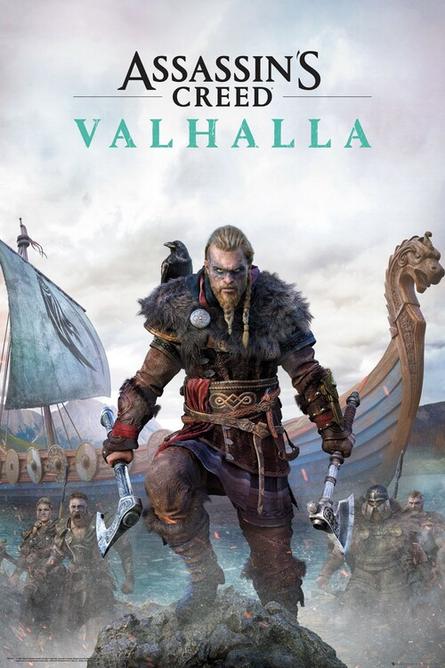 Assassin's Creed: Valhalla - Standard Edition Plakat