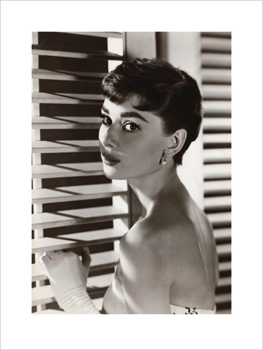 Audrey Hepburn - Blinds  Kunsttryk