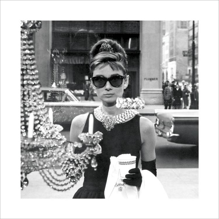 Audrey Hepburn - Window Kunsttryk
