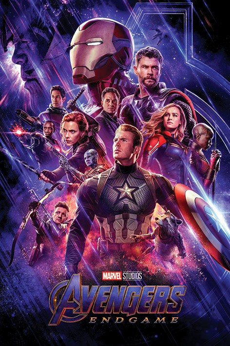 Avengers: Endgame - Journey's End Plakat