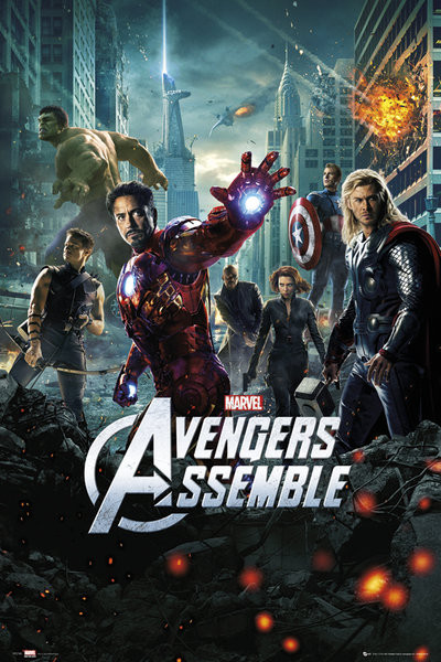 AVENGERS - one sheet Plakat