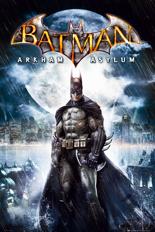 BATMAN ARKAM ASYLUM - batman Plakat