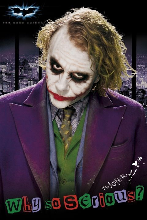 BATMAN - joker solo Plakat