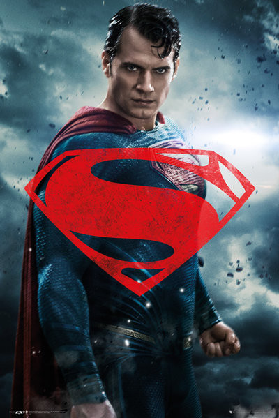 Batman v Superman: Dawn of Justice - Superman Solo Plakat