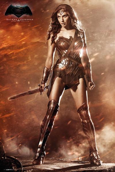 Batman v Superman: Dawn of Justice - Wonder Woman Plakat
