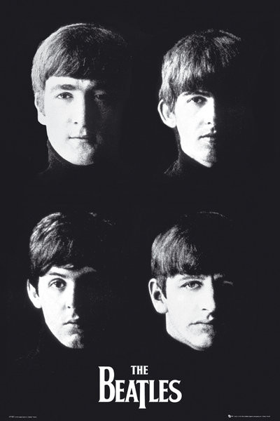 Beatles - with the Plakat