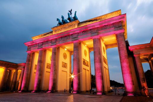 Berlin - brandenburger tor Plakat
