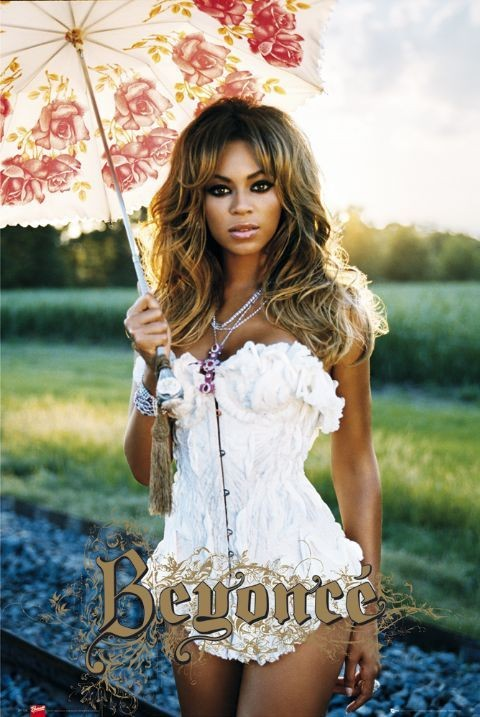 Beyonce - umbrella Plakat