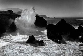 Big sur coastline – california Plakat