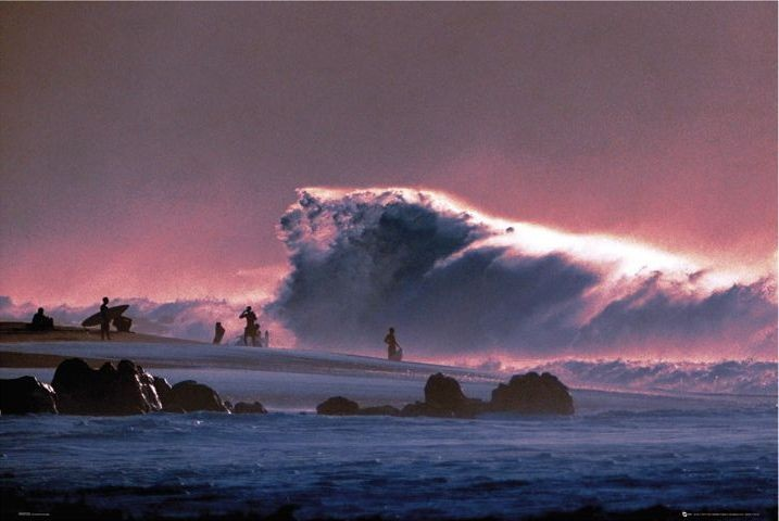Big wave Plakat