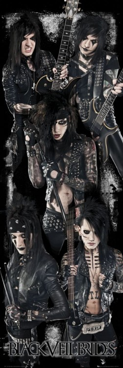 Black veil brides Plakat