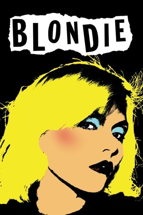 Blondie - punk Plakat