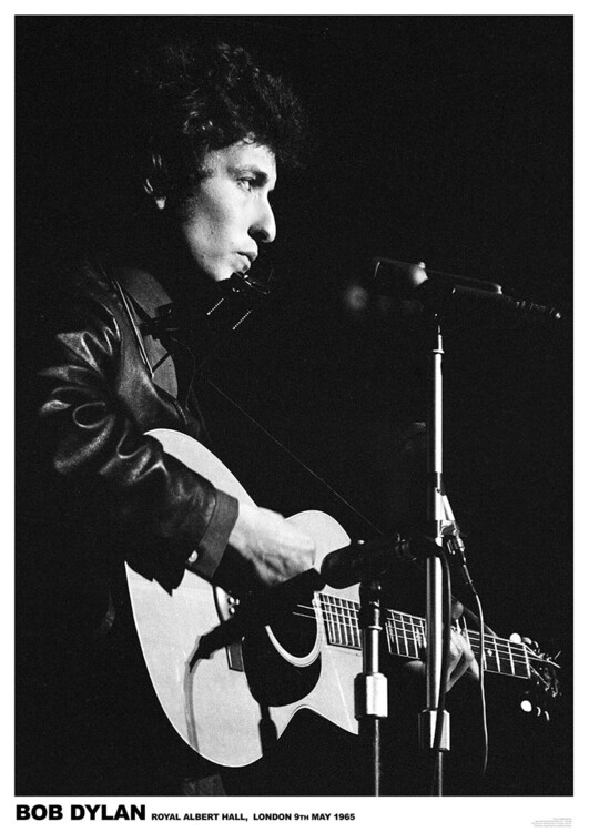 Plakat Bob Dylan - Royal Albert Hall