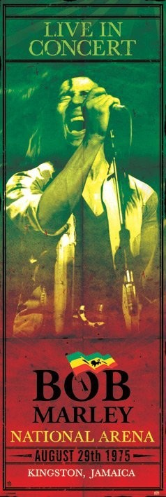 Bob Marley - concert Plakat