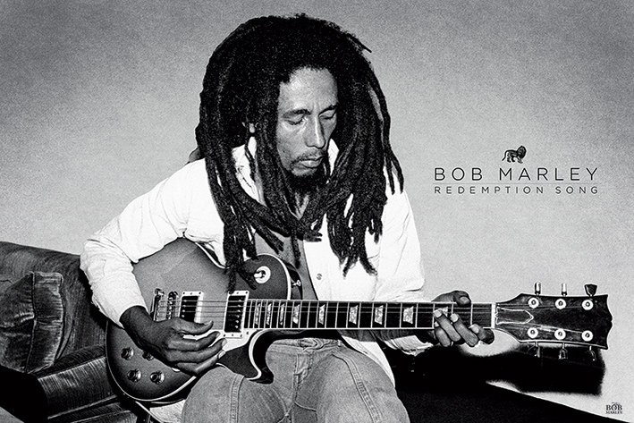 Bob Marley - Redemption Song Plakat