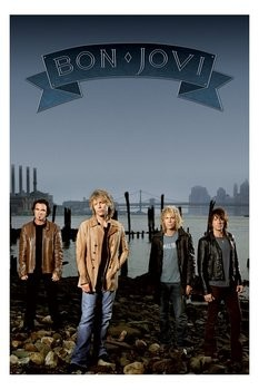 Bon Jovi - group Plakat