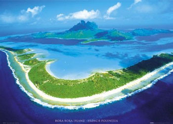 Bora Bora Plakat
