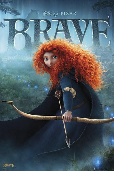 BRAVE - teaser Plakat