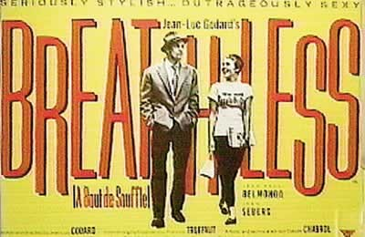 BREATHLESS - A bout de souffle Plakat