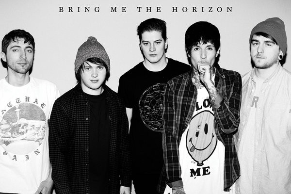 Bring Me the Horizon (B&W) Plakat