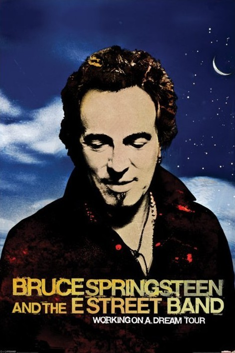 Bruce Springsteen - workin on Plakat