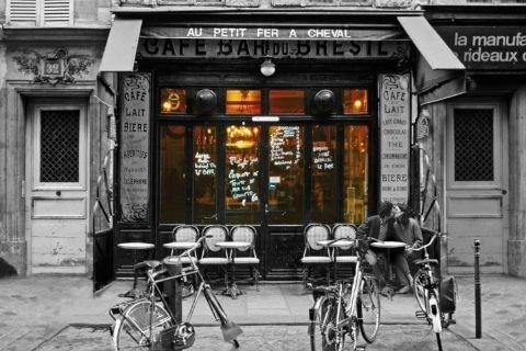 Cafe bar du Bresil Plakat