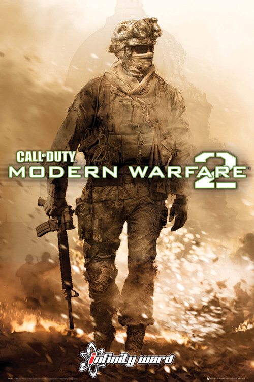 Call of Duty MW2 - cover  Plakat