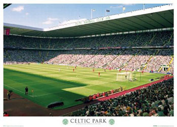 Celtic - parkhead Plakat
