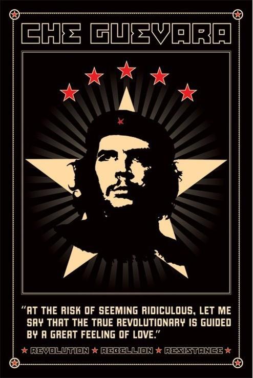 Che Guevara - odolnost Plakat