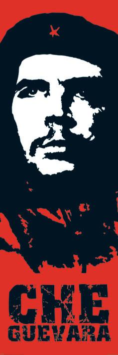 Che Guevara - red Plakat
