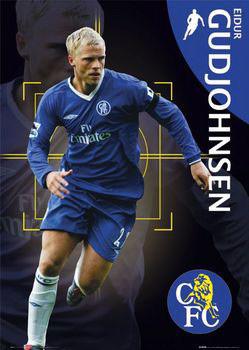Chelsea - gudjohnsen Plakat