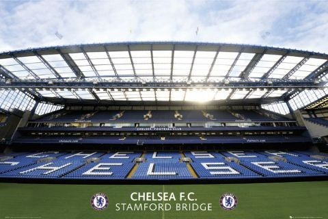 Chelsea - stadium Plakat