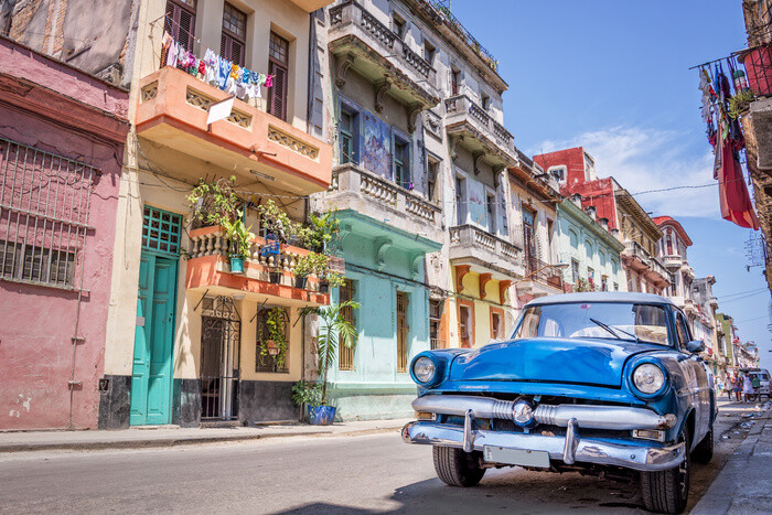 Cuba - Havana Plakat