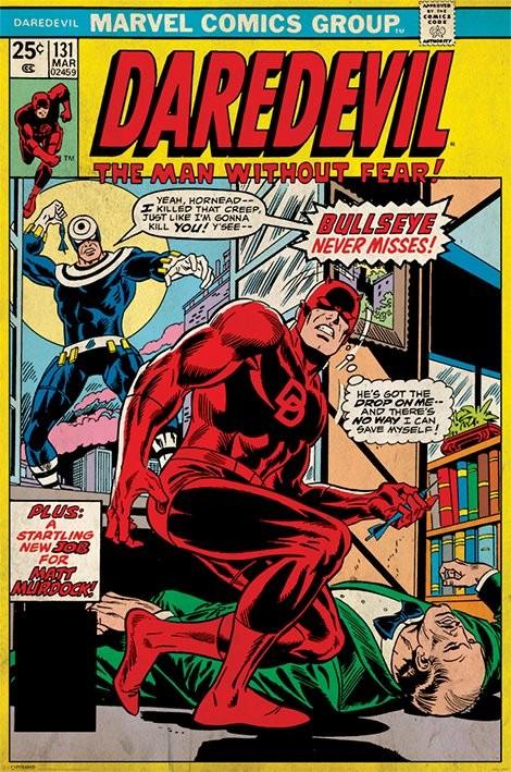 Daredevil - Bullseye Never Misses Plakat