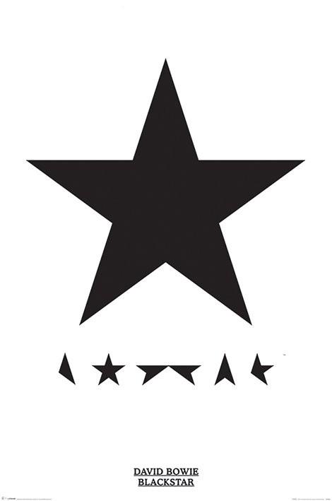 David Bowie - Blackstar Plakat