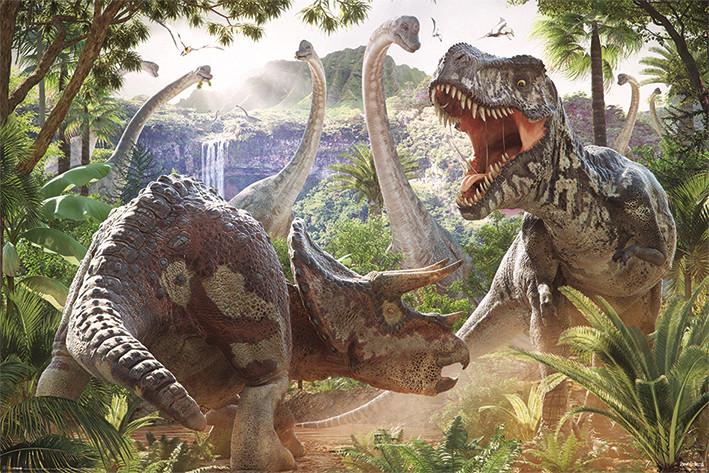 David Penfound - Dinosaur Battle  Plakat