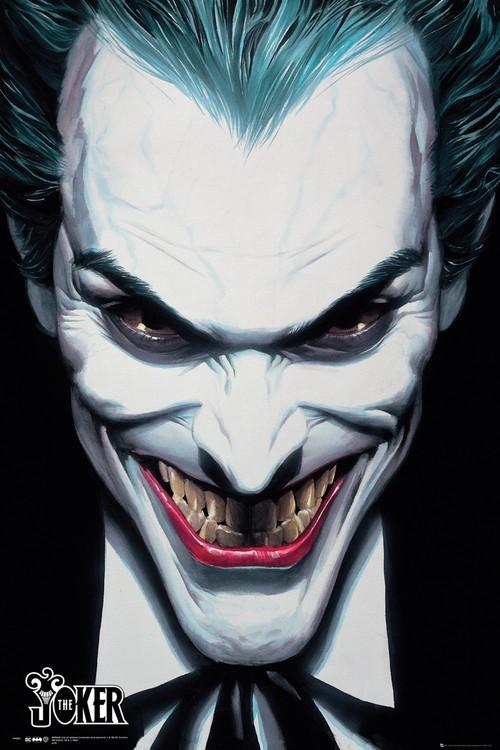 DC Comics - Joker Ross Plakat