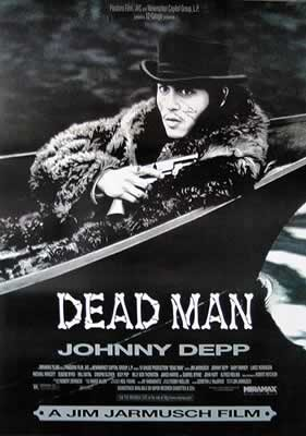 Dead man - Johnny Depp Plakat