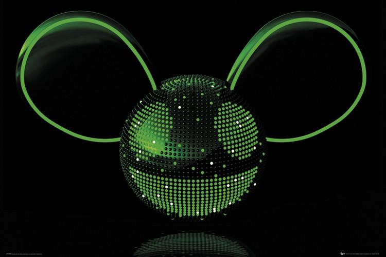 Deadmau5 - Neon Plakat