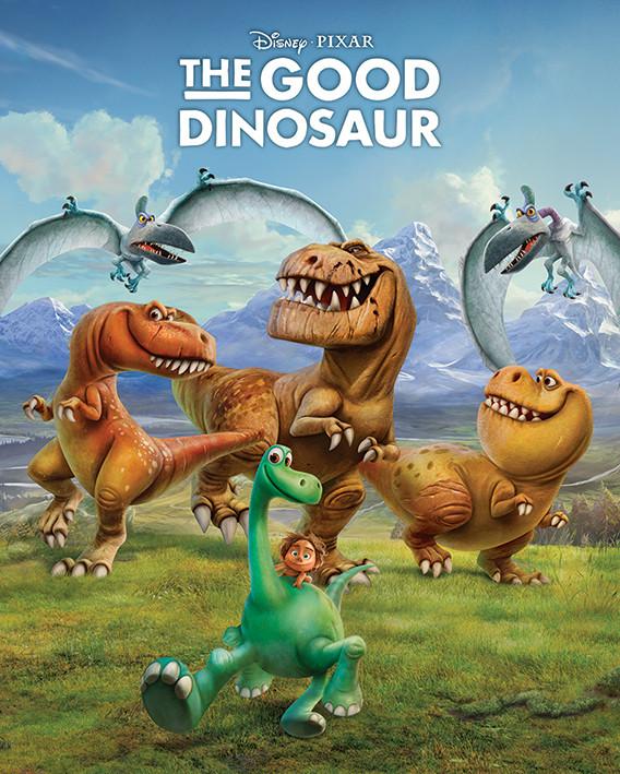 Den Gode Dinosaur - Characters Plakat