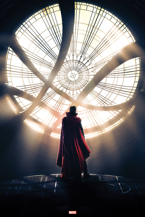 Doctor Strange - Window Plakat
