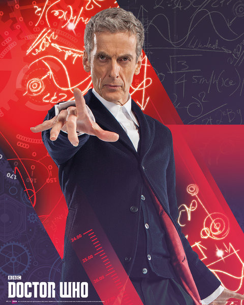 Doctor Who - Capaldi Plakat