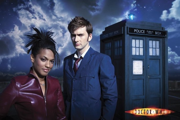 DOCTOR WHO - doctor and martha Plakat