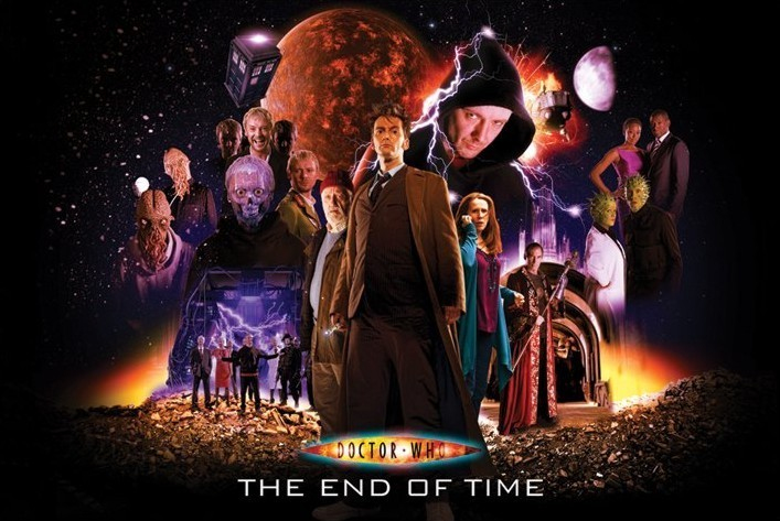 DOCTOR WHO - end of time Plakat